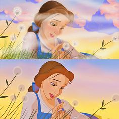 My first disney paintover   beauty and the beast digital art by NelsynsNiblettArt