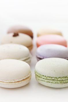 Assorted macarons from Patisserie Chantilly, Lomita CA via a a mode