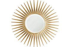 I've always loved sunburst mirrors -- Somerton Mirror on OneKingsLane.com