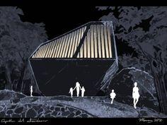 Conceptual de iluminación Capilla del Atardecer BNKR Arquitectura + Noriegga Iluminadores Arquitectónicos Acapulco, Guerrero, México