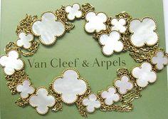 Van Cleef & Arpels 18Kt Magic Alhambra Necklace
