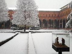 Milano, chiostro del Bramante presso università Cattolica