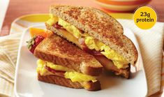 Bacon & Egg Breakfast Grilled Cheese - Incredible Egg