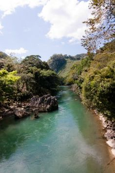 The Lanquin River