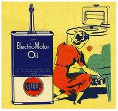Gulf Electric Motor Oil (by paul.malon), 1930s