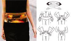 Great idea of double belt over scarf Beauty Tips, Beauty Hacks, Scarf Belt, Obi Belt, Capsule Wardrobe, Conference, Layers, Craft Ideas, Women's Fashion