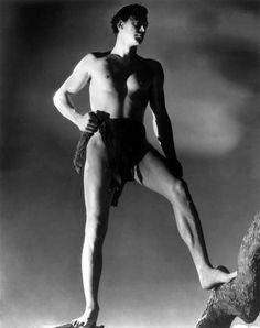 Tarzan And His Mate Johnny Weissmuller 1934 Photo Print Tarzan E Jane, Tarzan Movie, Maureen O'sullivan, Tarzan Johnny Weissmuller, Tarzan Of The Apes, Jungle Life, Best Swimmer, Glamour Photo, Old Hollywood