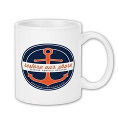 Coffee Mug 11oz - Goods - RestoreOurShore - Printfection.com