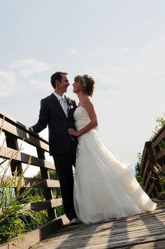 Real Brides - Watters Gown - anna bé bridal boutique