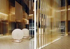 curiosity.jp Architecture Details, Interior Architecture, Nightclub Design, Lobby Design, Design Hotel, Hotel Interiors, Hotel Lobby, Hospitality Design, Retail Design