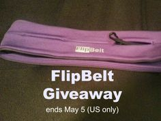 Reviews, Chews & How-Tos: Giveaway: FlipBelt - Joggers Accessory (US) ends 5/5/14