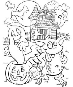 Here are the Awesome Halloween Coloring Pages For Adults Colouring Pages. This post about Awesome Halloween Coloring Pages For Adults Colouring Pages . Free Halloween Coloring Pages, Pumpkin Coloring Pages, Fall Coloring Pages, Coloring Pages For Kids, Coloring Books, Fall Coloring Sheets, Free Coloring, Scary Halloween Crafts, Scary Halloween Pumpkins