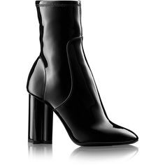 Silhouette Ankle Boot (35075 TWD) ❤ liked on Polyvore featuring shoes, boots, ankle booties, short boots, ankle boots, bootie boots and ankle bootie boots