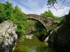 Corsica - Cascades et Canyons - Carcheto - Commune : Canavaggia.Bassin : Golo.(Ruisseau de Carcheto).(Haute Corse)