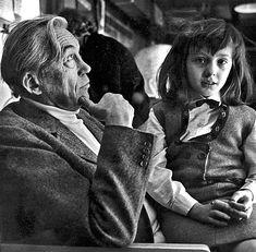 John Huston and Angelica - John Huston - Wikipedia Cannery Row, Anjelica Huston, John Huston, Light Film, Historical Pictures, Classic Films, Film Director, Embedded Image Permalink, Teen Fashion