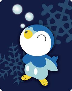 Piplup. Don\'t forget to like this Pokemon Facebook page for more cool Pokemon content: http://www.facebook.com/shinydragonairx