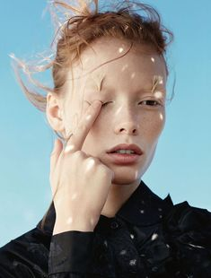 Julia Hafstrom by Txema Yeste for Numero March 2015 | The Fashionography