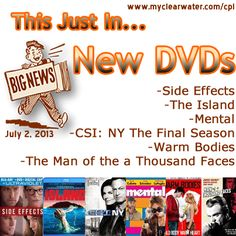 New DVDs located in our catalog under New Media