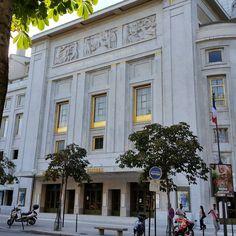 #france #paris #architecture #theatredeschampselysees #artdeco