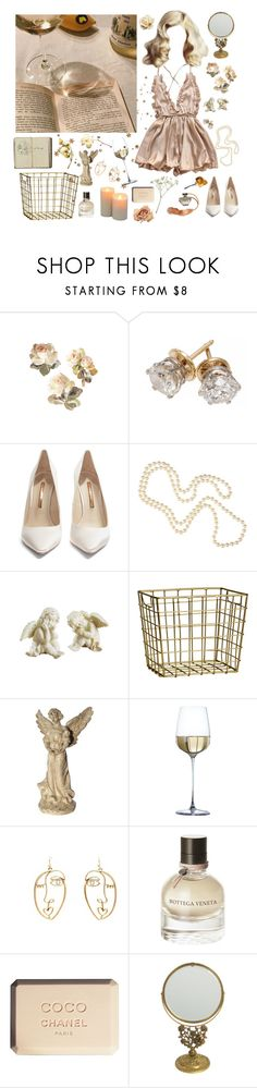 """angels aren't cry"" by lilyyjey ❤ liked on Polyvore featuring Sophia Webster, Louche, H&M, Bottega Veneta, Chanel and vintage"