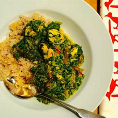 """Authentic Saag Paneer 