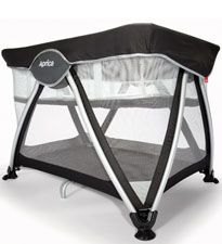 Aprica Haven Playard - one-step fold and convenient carry bag for easy transport