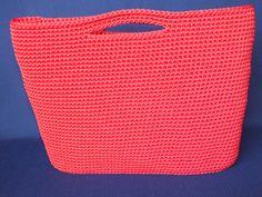 Ready for summer trip with crochet beach bag!