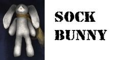 ClubhouseB - Crafting: Sock Bunny Instructions