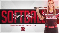 Rutgers Softball, Baseball, Sports Graphic Design, Team Photos, Design Inspiration, College, Craft Ideas, Social Media, Scrapbook