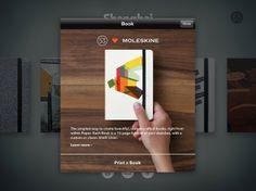 How to Create Custom Moleskine Notebooks from Your iPad via Brit + Co.