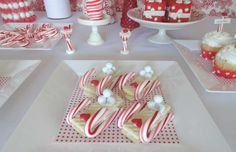 Red & White Christmas/Holiday Party Ideas | Photo 6 of 26 | Catch My Party