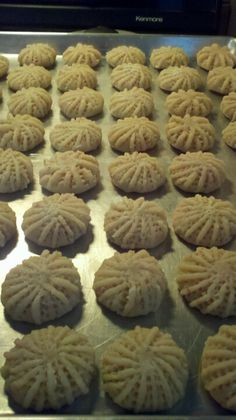 "Egyptian traditional homemade cookies like no other, mom's recipe (""kahk"")"