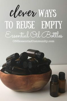30 Essential Oil Uses for Empty Essential Oil Bottles