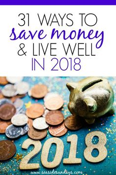 These 31 Money Saving Hacks every saver should know are THE BEST! I'm so happy I found these GREAT money tips! Now I have great ways to save money on almost everything in my life! #savemoney #frugal #savingmoney #frugalliving