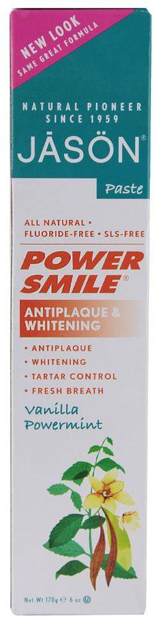 Jason Powersmile® Antiplaque & Whitening Toothpaste Vanilla Powermint