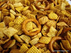 Finding Joy in My Kitchen: Nut-Free Chex Mix