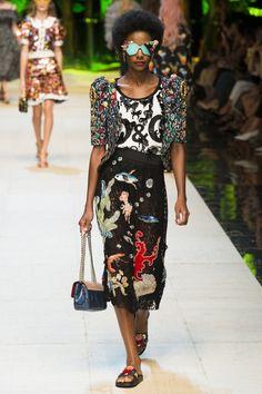 Défilé Dolce & Gabbana Printemps-été 2017 79