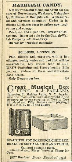 Yesterday's Papers: Quackery, self medication and reckless advertising in the gaslight era