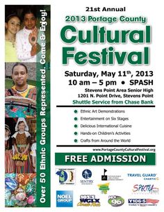 Portage County Cultural Festival~ Stevens Point, WI