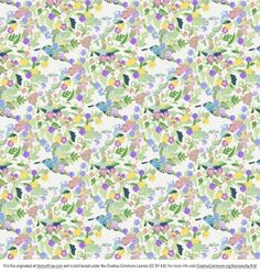 Free vector Funky Flowers Background #5032