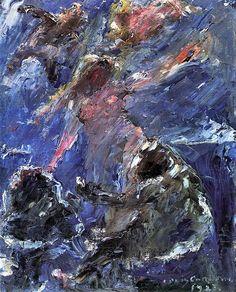 Lovis Corinth - Birth of Venus