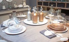 High Point Furniture Market Report Copper Tabletop