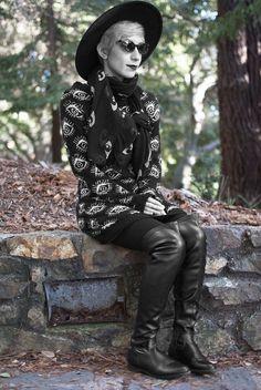 #Goth nu-Goth in the park Raissa Palacios