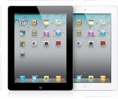 Apple iPad 2 MC979LL/A Tablet (16GB, Wifi, White) 2nd Generation (MC989LL/A)