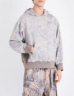 3f650a39e YEEZY Season 4 Oversized cotton-jersey hoody Yeezy Season 4, Athleisure,  Shirt Outfit