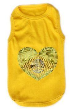Parisian Pet Brazil Flag Dog T-Shirt, X-Large *** Remarkable product available now. : Dog Shirts