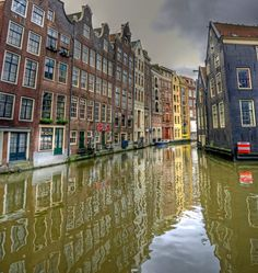 Amsterdam - has far more canals than Venice
