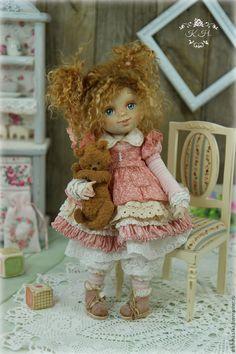 Купить Малышка Сью. Кукла авторская - кукла ручной работы, кукла, кукла в подарок