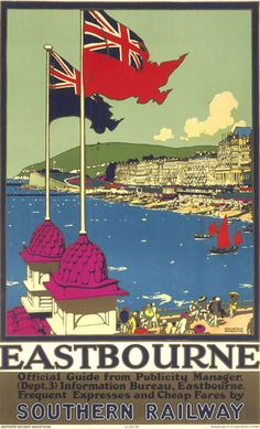 Eastbourne - Official Guide Art Print by National Railway Museum at King & McGaw