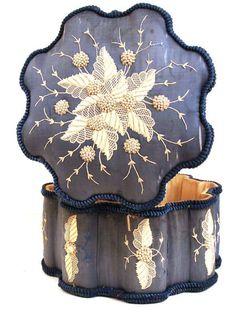"""Antique Nineteenth Century French Chocolate Box signed """"Maison Boissier"""""""